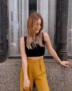Michelle Madsen (@michelletakeaim) • Instagram photos and videos Let Your Hair Down, Beachy Waves, White Denim, Down Hairstyles, Street Style, Black And White, Videos, Womens Fashion, Photos