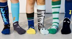 socks from ubang. puppet feet!