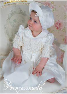 KATE mit Mantel in champagner! - Princessmoda - Alles für Taufe Kommunion und festliche Anlässe