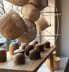 To say that we were fearful of your reaction to the news of our store closing is an understatement. Willow Weaving, Basket Weaving, Woven Baskets, Hand Weaving, Rattan, Wicker, Diy Rangement, Japanese Bamboo, Garden Basket