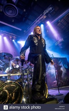 Download this stock image: Milan, Italy. 17th January, 2018. Jari Mäenpää performs with Wintersun band at Alcatraz in Milan, Italy. 17th Jan, 2018. Credit: Alberto Gandolfo/Alamy Live News - M03W73 from Alamy's library of millions of high resolution stock photos, illustrations and vectors.