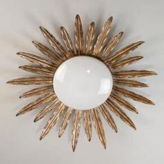 Vaughan Designs | Sunburst Flush Ceiling Light