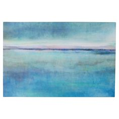 You'll love the Landscape Early Painting Print on Wrapped Canvas in Blue at AllModern - With Great Deals on modern Décor  products and Free Shipping on most stuff, even the big stuff.