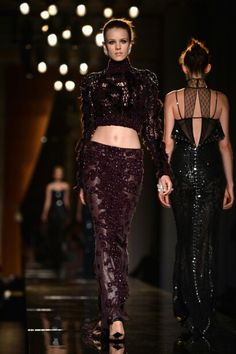 Versace Haute Couture Fall Winter 2014