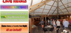 World Culture Band at Cayo Welcome Center