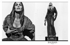 The supers return: Cindy Crawford, Claudia Schiffer and Naomi Campbell are the stars of the spring/summer 2016 campaign, photographed by Steven Klein.