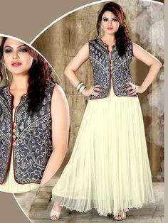 Outfit is an opportunity to look best and to suit your style.  Item code: GTF3014 http://www.bharatplaza.com/new-arrivals/gowns.html