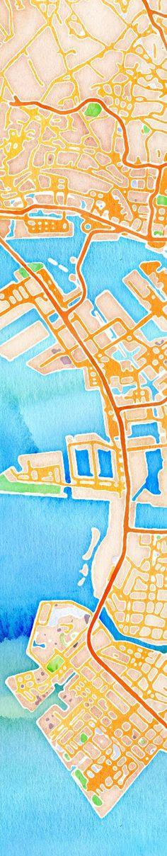 Tokyo #handmaps