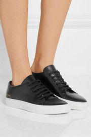 Court leather sneakers