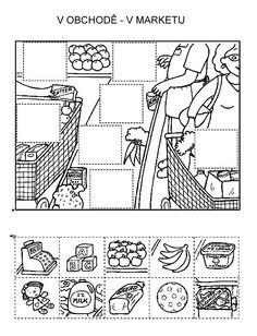 Z internetu - Sisa Stipa - Picasa Web Albums Preschool Writing, Kindergarten Activities, Teaching Tools, Teaching Kids, File Folder Activities, Animal Crafts For Kids, Hidden Pictures, School Items, Math For Kids