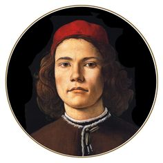 Sandro Botticelli ~ Portrait of a young man.