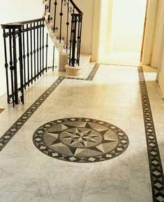 Wonderful draws on marble floors - Stylish Home Decors, Food Recipes, Beauty Care Recipes