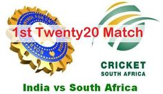 Today! #India Vs  #SouthAfrica 1st #T20 Match Live Score Streaming Scorecard Result Winner Prediction 2015