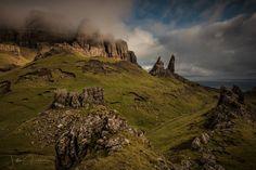 The Old Man of Storr, Isle of Skye looking North.