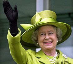 HM The Queen at Epsom. . . .She looks wonderful, certainly doesn't look 87 years old.