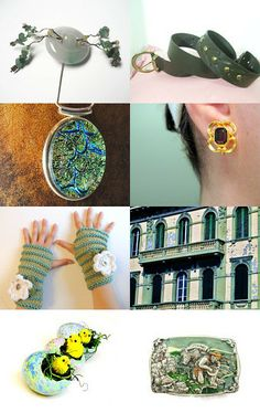 Minty Thursday Collection by Cristina on Etsy--Pinned with TreasuryPin.com