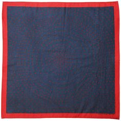 Pink Cotton Bandana Scarf 22 inches square standard Batik Pattern