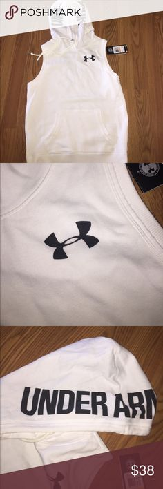 Brand new under armour woman's muscle tee Brand new. It's size small & medium. Under Armour Tops