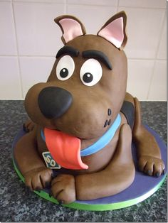 Wonderful Scooby-Doo Cake made by Kerry Rutherford