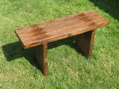 SIMPLE bench option - with instructions