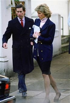 Charles & Diana Leave Harry's School