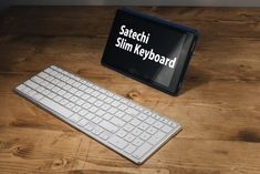 iMacに合うスタイリッシュなBluetoothキーボード:Satechi Slim Keyboard Computer Keyboard, Laptop, Slim, Computer Keypad, Laptops, The Notebook