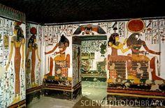 Tomb of queen Nefertari. Luxor: