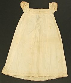 Dress Date: ca. 1820 Culture: American Medium: [no medium available] Dimensions: [no dimensions available] Credit Line: Gift of Mrs. Louise ...