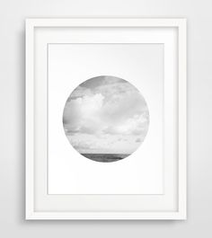 Cloud Photo Cloud Poster Landscape Poster by #MelindaWoodDesigns #Cloudprints