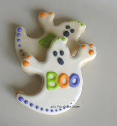Halloween Treats - Yummy Ghost Cookies