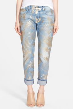 Relaxed Crop Skinny Jeans  by 7 For All Mankind on @nordstrom_rack
