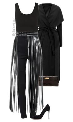 """Kylie Jenner"" by efiaeemnxo ❤ liked on Polyvore featuring Yummie by Heather Thomson, Dolce&Gabbana and Gianvito Rossi"