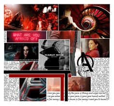 """""""Scarlet Witch"""" by metacrisisten ❤ liked on Polyvore featuring картины"""