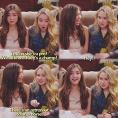 "#GirlMeetsWorld 1x21 ""Girl Meets Demolition"" - Riley and Maya"