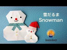 折り紙 シンプルリース Origami Simple Wreath - YouTube Origami Snowman, Christmas Origami, Christmas Paper Crafts, Origami Cards, Origami And Kirigami, Origami Easy, Paper Origami Flowers, Paper Crafts Origami, Gato Origami
