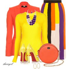 """""""Bright And Bold For Spring"""" by sherryvl on Polyvore"""