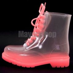 Kids Jelly Boots Mayori PRICE : Rp.330.000,- AVAILABLE SIZE : - Black 31-32-32 - Neon Orange 30-31-31-32-33-34 - Blue 31-33-33-34-35  Detail insole (cm) : - Size 30 = 20cm - Size 31 = 20.5cm - Size 32 = 21cm - Size 33 = 21.5cm - Size 34 = 22cm - Size 35 = 22.5cm  IMPORT HIGH QUALITY Material : High quality full rubber  ~ANTI AIR, TAPI TETAP BISA REMBES LEWAT LUBANG TALI ~MUDAH DIBERSIHKAN  ORDER NOW : SMS/WHATSAPP 087777111986 LINE : mayorishop  RESELLER WELCOME Happy Shopping 😊… Plastic Shoes, Plastic Art, Princess Closet, Kids Rain Boots, Rubber Shoes, Shoe Game, Pretty Outfits, Happy Shopping, Pretty In Pink