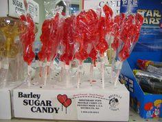 Barley Sugar Candy Lobsters