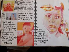 Memories and treasures Gcse Art Sketchbook, Sketchbooks, Student Art Guide, High School Art Projects, School Painting, Visual Diary, Graphic Design Projects, Photography Projects, Art Journal Inspiration