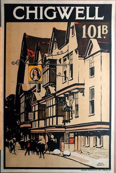 Fred Taylor (English, 1875-1963) printed by Johnson, Riddle and Company Limited, Chigwell