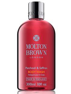 【MOLTON BROWN】 Pachouli & Saffran Body Wash