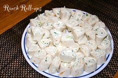 Ranch Roll-ups -- a great party dish! (From our blog: Like Mother's, Like Daughter's Kitchen)