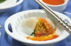 Indonesian Medan Food: Chai Kueh, Chai Pau ( Steam Vegetable Cake )