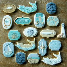 Rebecca Weld (aka The Cookie Architect) nabbed the Oscar of the cookie world for this series of Nantucket-themed biscuits.