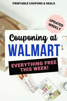 Find out everything that is free at Walmart this week. Get up to date Walmart coupons at save at Walmart! Store Coupons, Grocery Coupons, Digital Coupons, Printable Coupons, Walmart Sales, Baby Coupons, Baby Bar, Coffee Shot, Sunday Paper