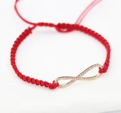 red cord braided bracelet Friendship Bracelet lucky jewelry handmade fashion bracelet women's lucky bracelet boho bracelet yoga bracelet by YYFashion on Etsy https://www.etsy.com/listing/469368915/red-cord-braided-bracelet-friendship