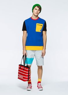 Love Moschino Uomo Spring/Summer 2016 pre-collection - See more on www.moschino.com