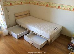 Pallet-Kids-Bed-With-Storage.jpg (750×559)