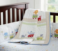 Circus Friends Nursery Bedding | Pottery Barn Kids