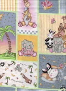 Bazooples Friends Jungle Patch Fabric Baby Quilt Panels, Panel Quilts, Baby Quilts, Patches, Friends, Fabric, Amigos, Tejido, Tela